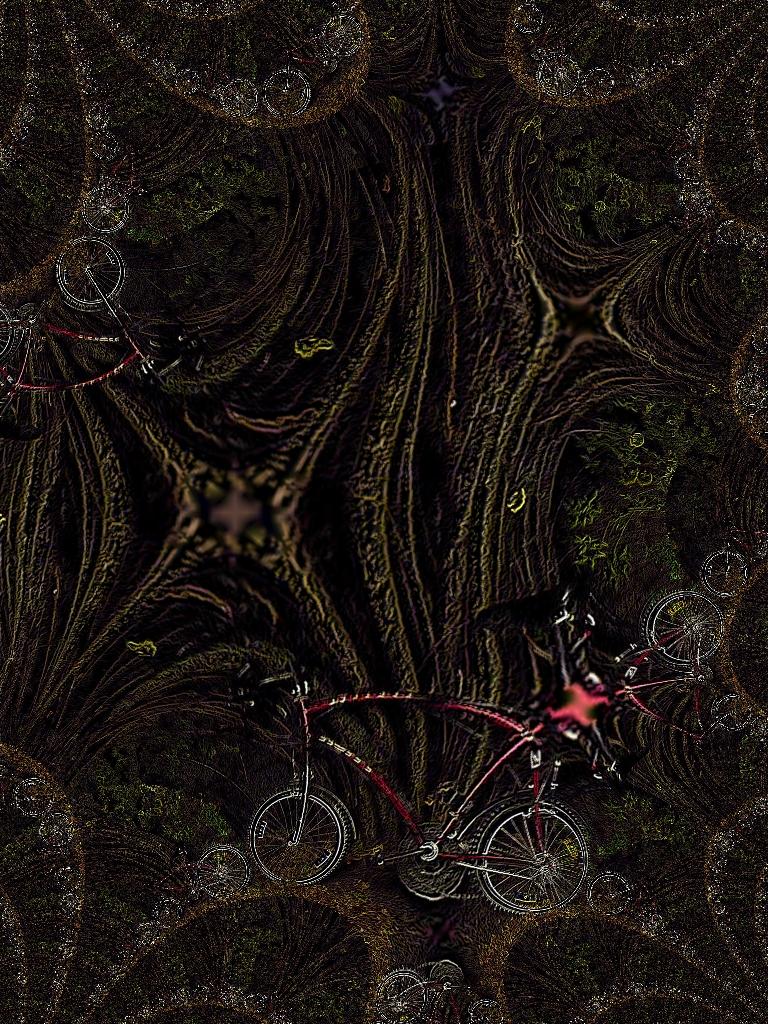 psychodelisches Fahrrad 2
